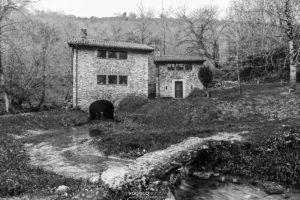 Molino restaurado - Nacimiento del río Cabra
